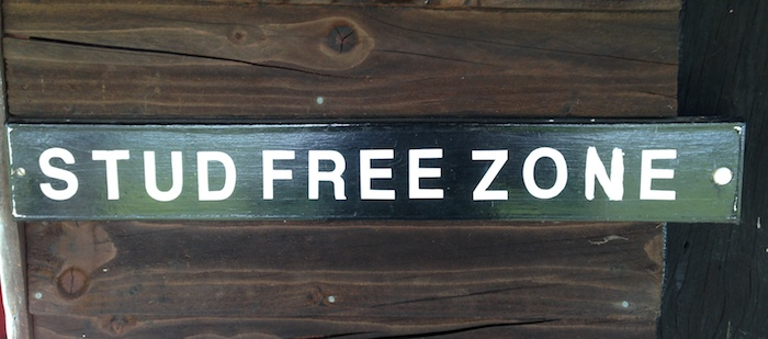 The mysterious absence of Stuart Slater from the line-up was soon explained by the sign at the Lapworth club house.