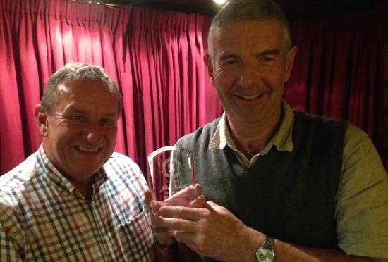 Legend Jonty Nicholls receives his award