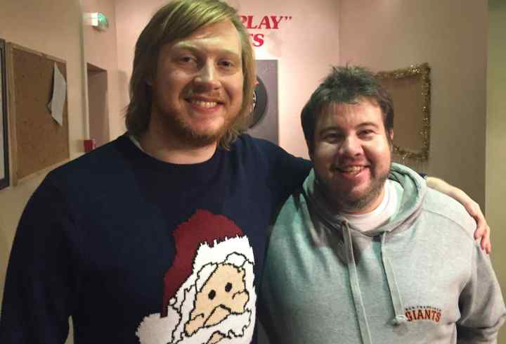 It was fair to say that Ed Sherran and Michael McIntyre had let themselves go a bit over Christmas.