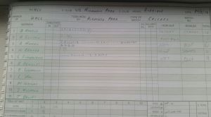 Highwood Park - Batting